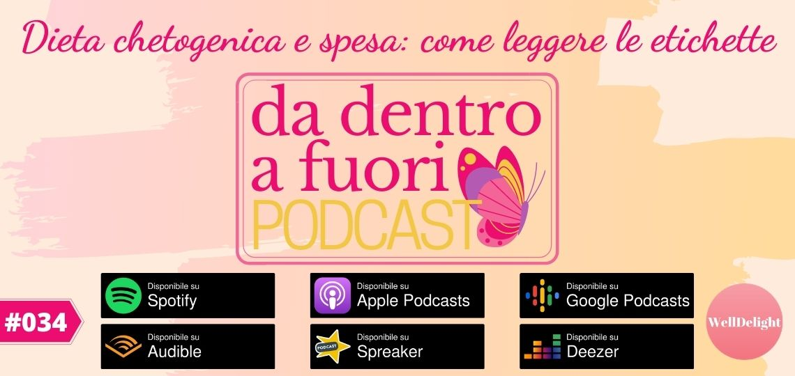 podcast spesa chetogenica