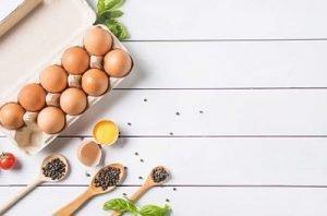 grassi buoni uova