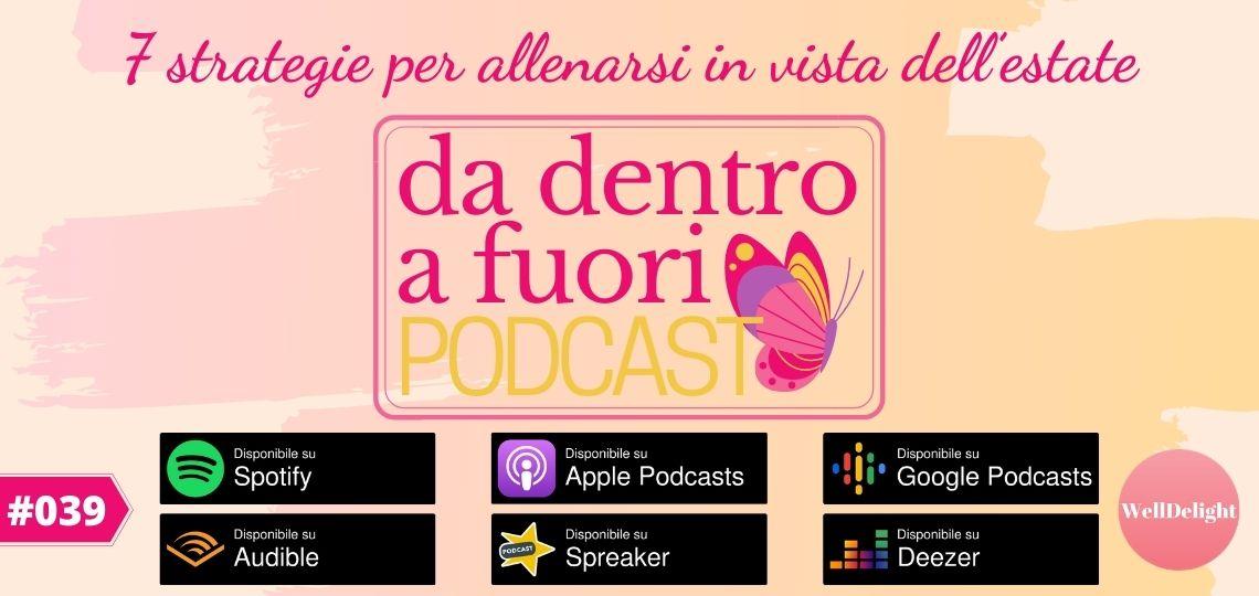 podcast allenamento motivazione