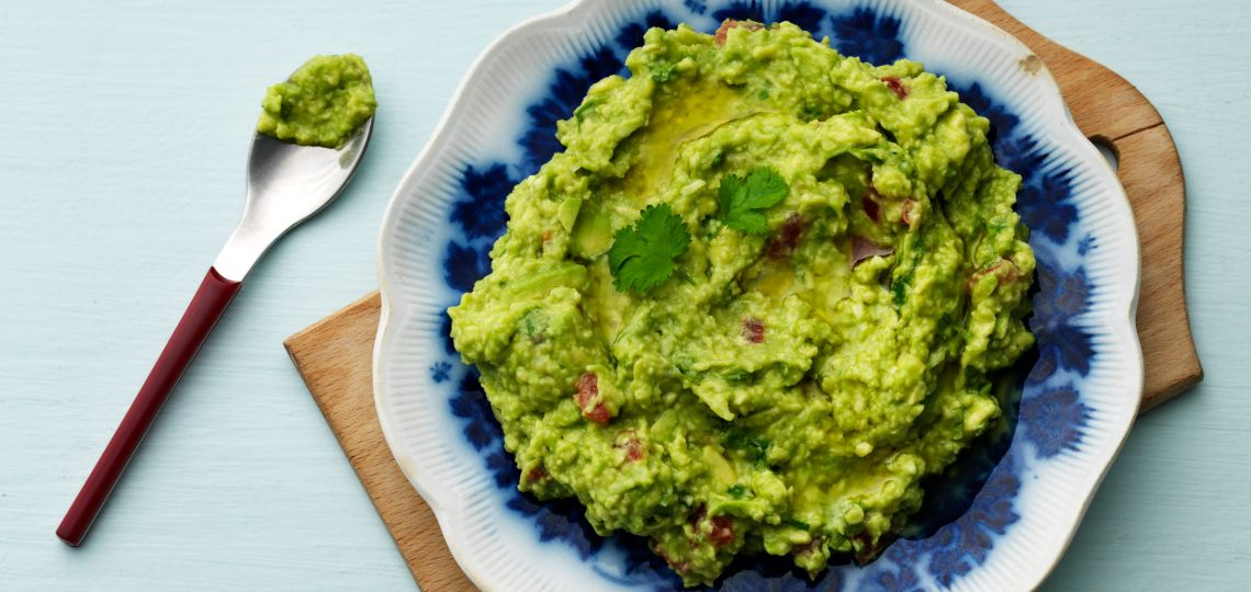 Salsa guacamole low-carb