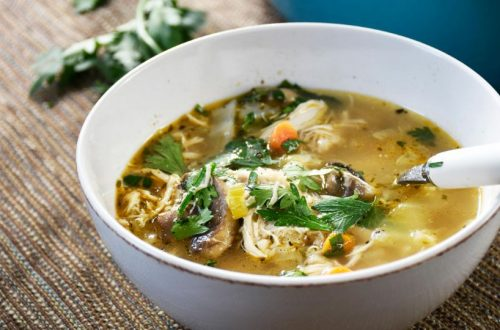 Zuppa di pollo