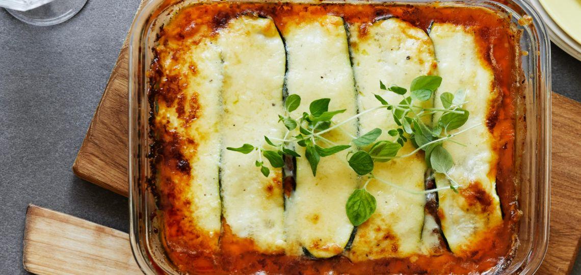 Lasagna keto di zucchine