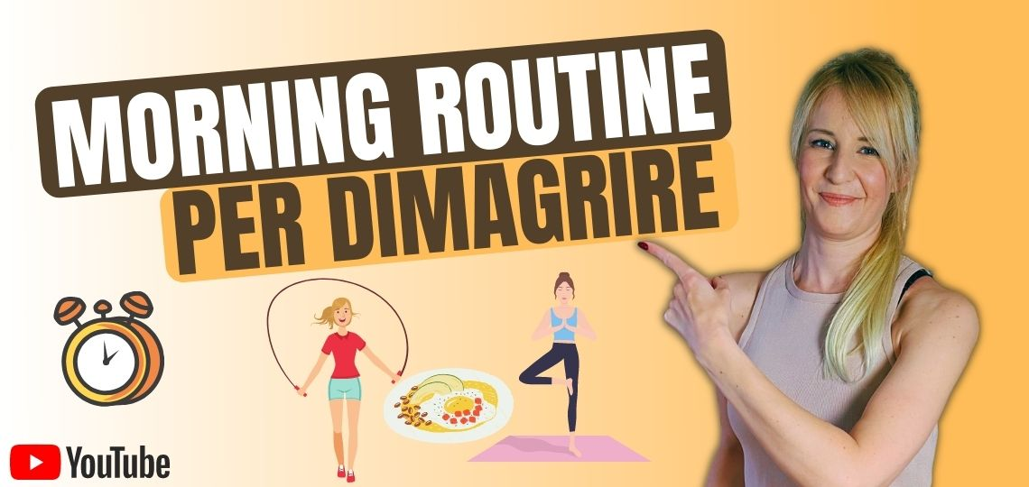 morning routine per dimagrire