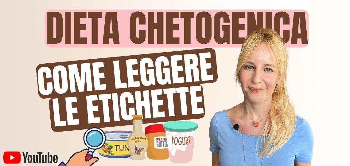 dieta chetogenica etichette