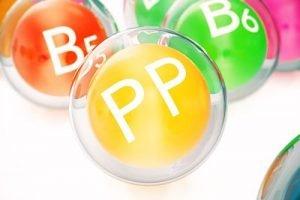 vitamine gruppo b vitamina pp